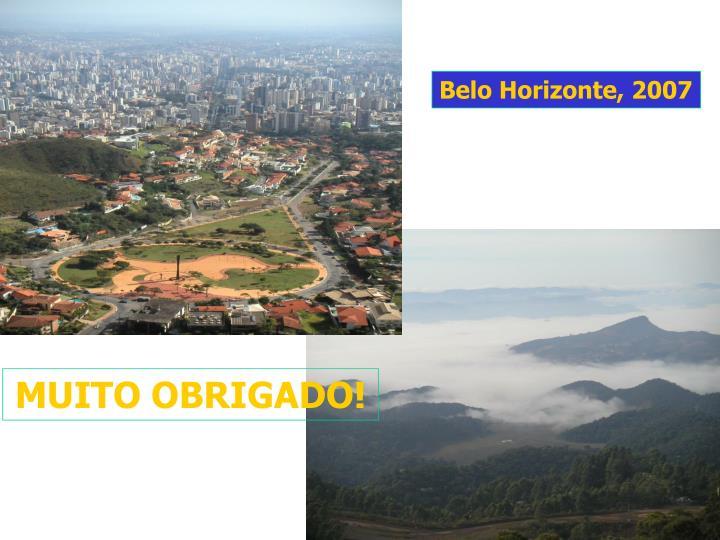 Belo Horizonte, 2007
