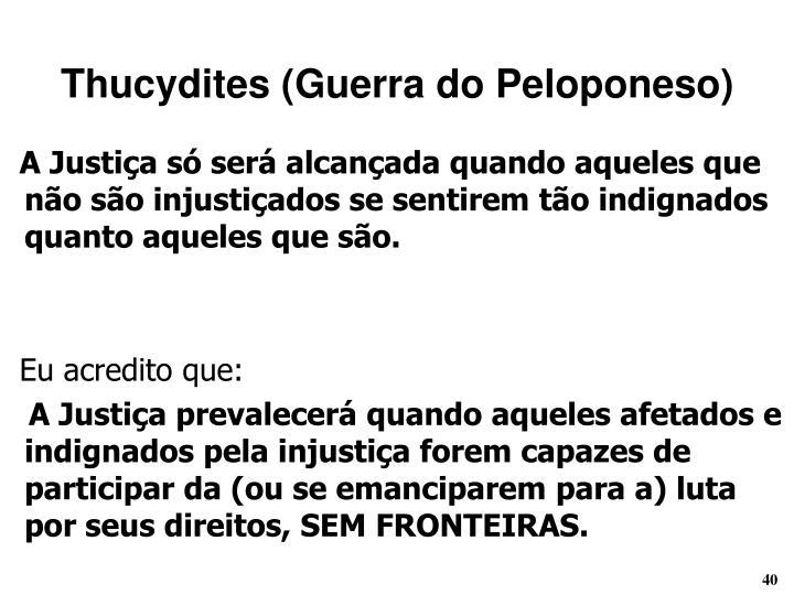 Thucydites (Guerra do Peloponeso)