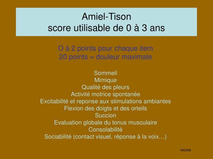 Amiel-Tison