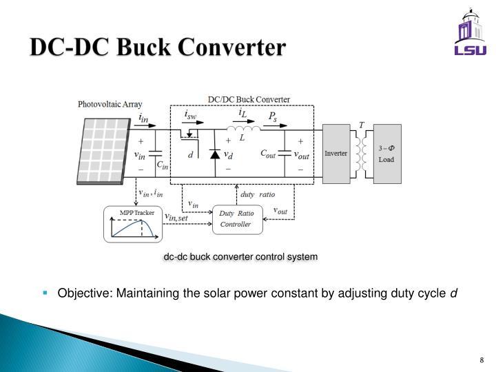 DC-DC Buck Converter