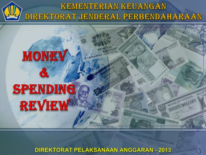 monev spending review