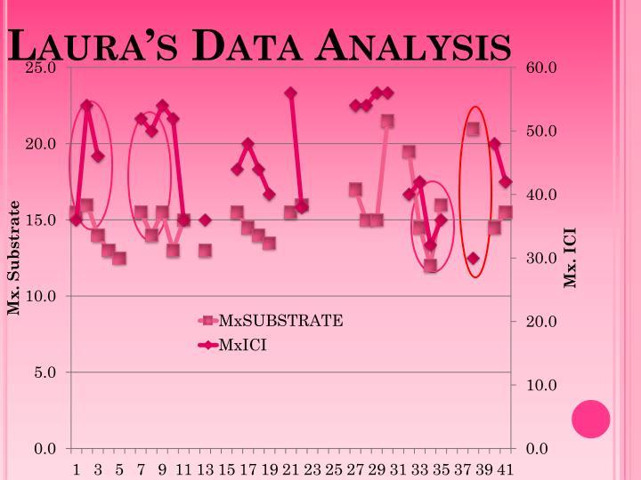 Laura's Data Analysis