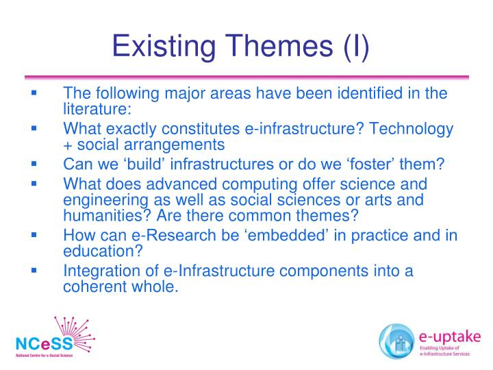 Existing Themes (I)
