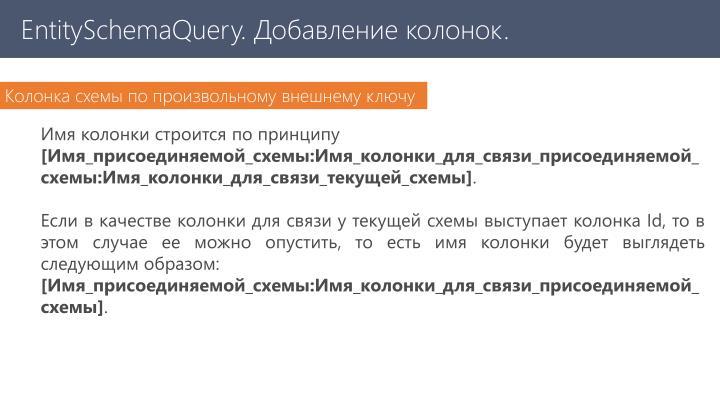 EntitySchemaQuery
