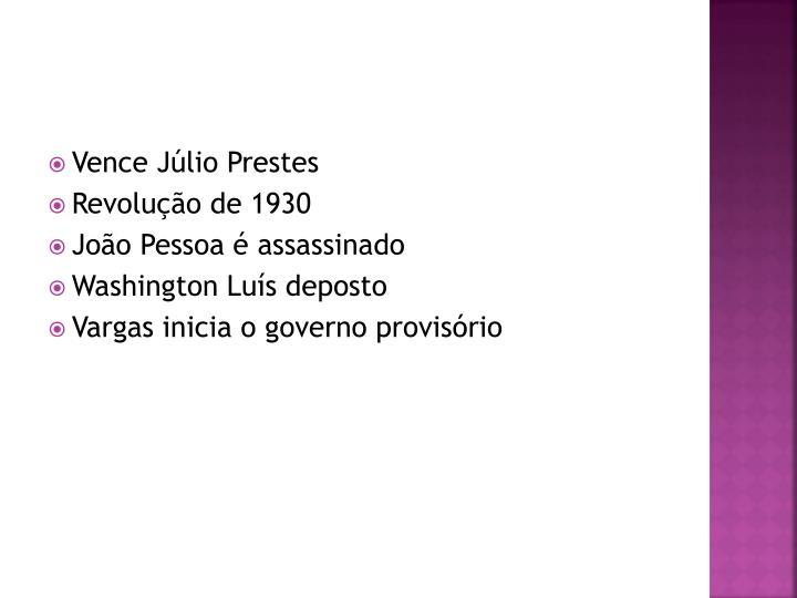 Vence Júlio Prestes