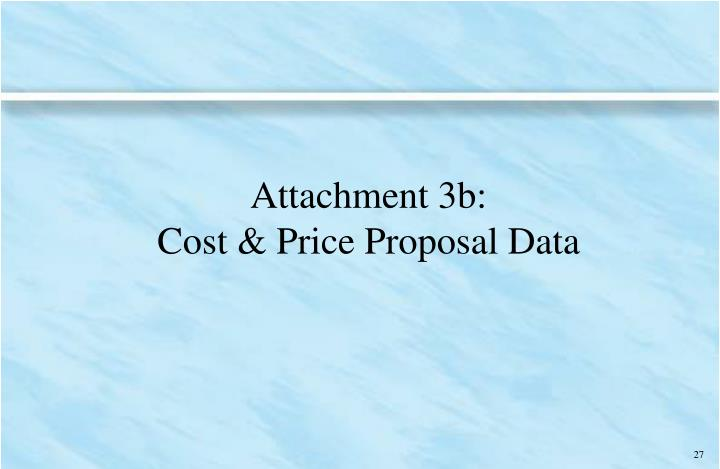 Attachment 3b: