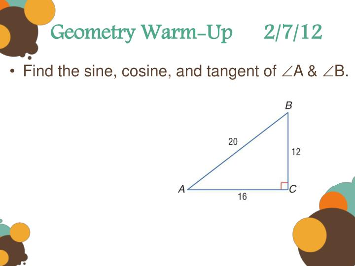 Geometry Warm-Up