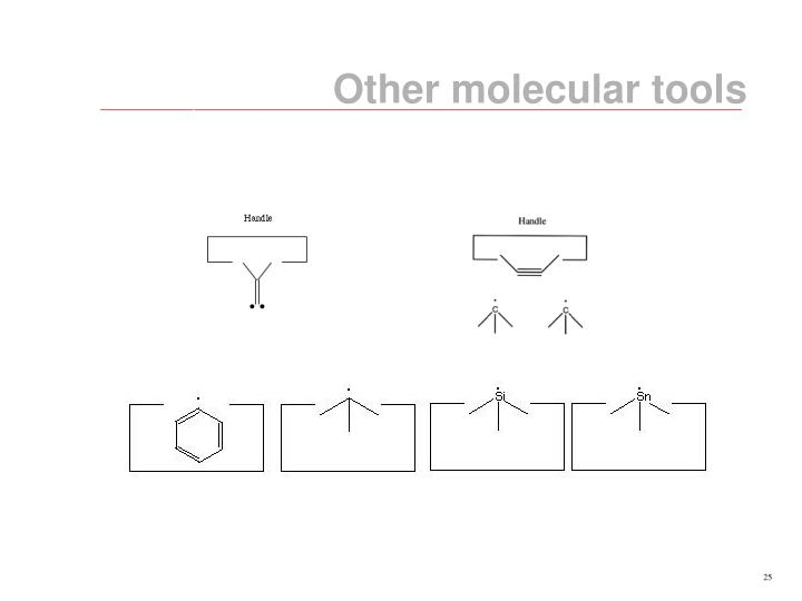 Other molecular tools