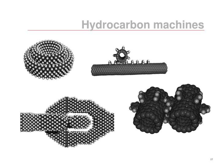 Hydrocarbon machines