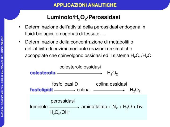 colesterolo ossidasi