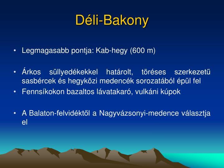 Déli-Bakony