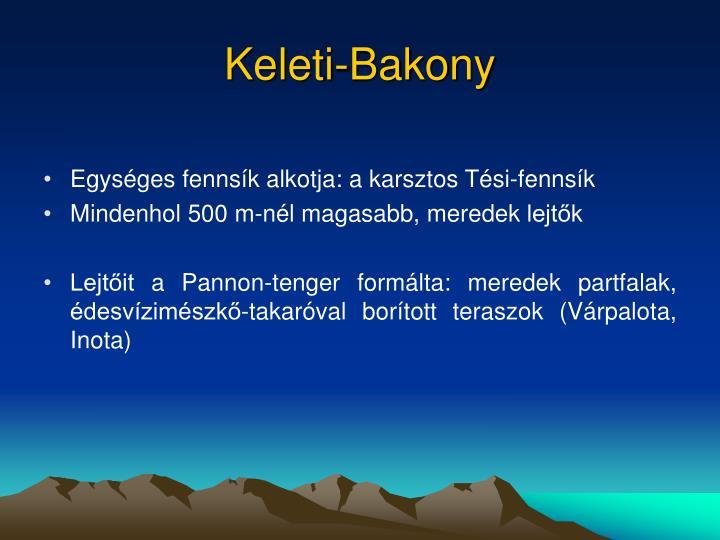 Keleti-Bakony