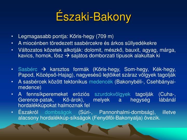 Északi-Bakony