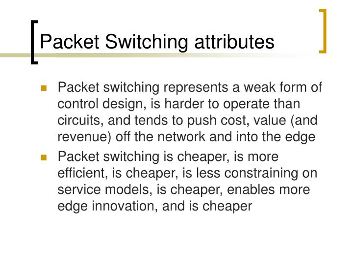 Packet Switching attributes