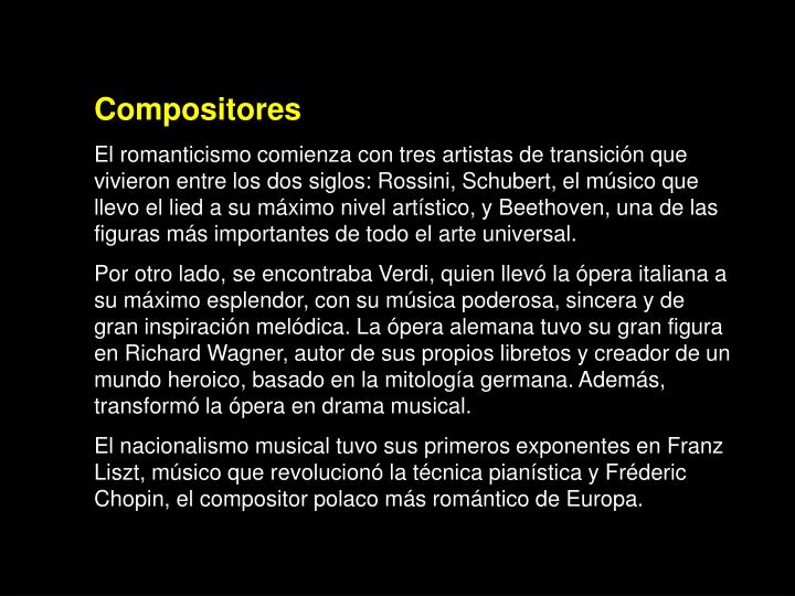 Compositores