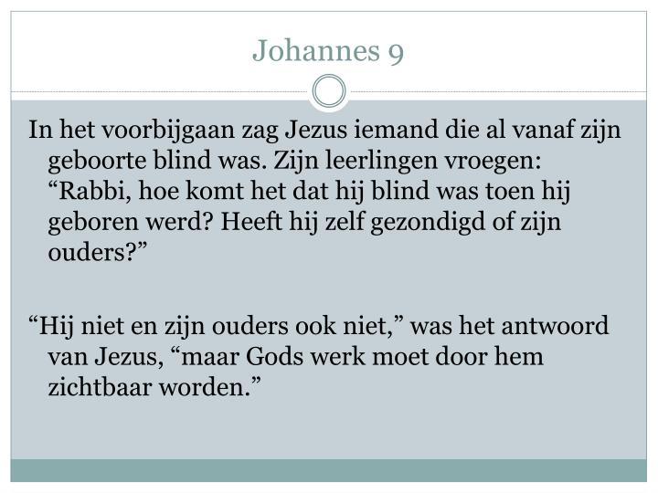 Johannes 9