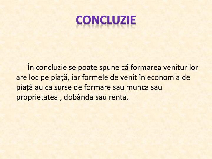 Concluzie