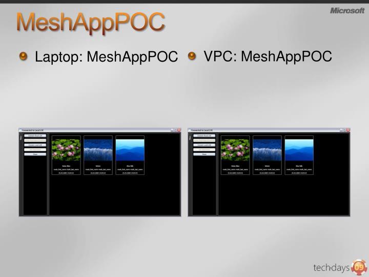 MeshAppPOC