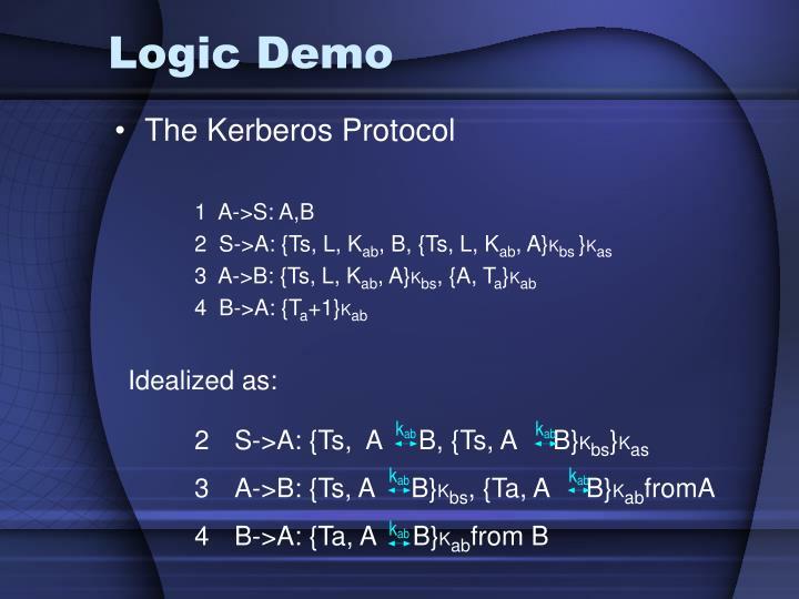 Logic Demo