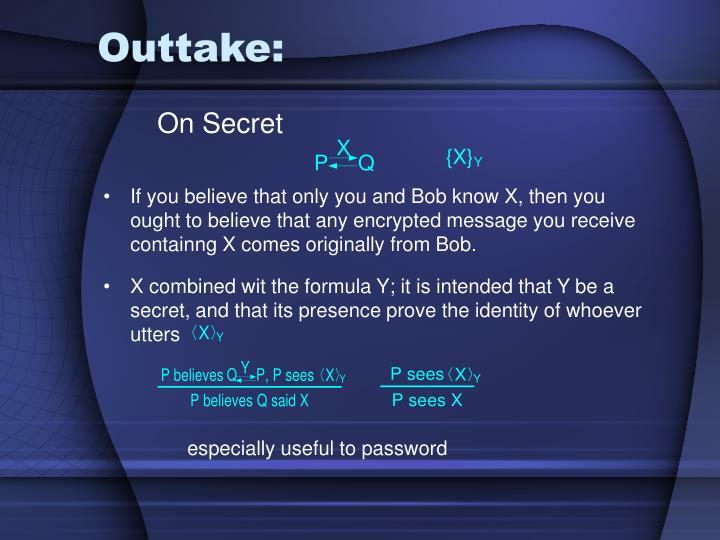 Outtake:
