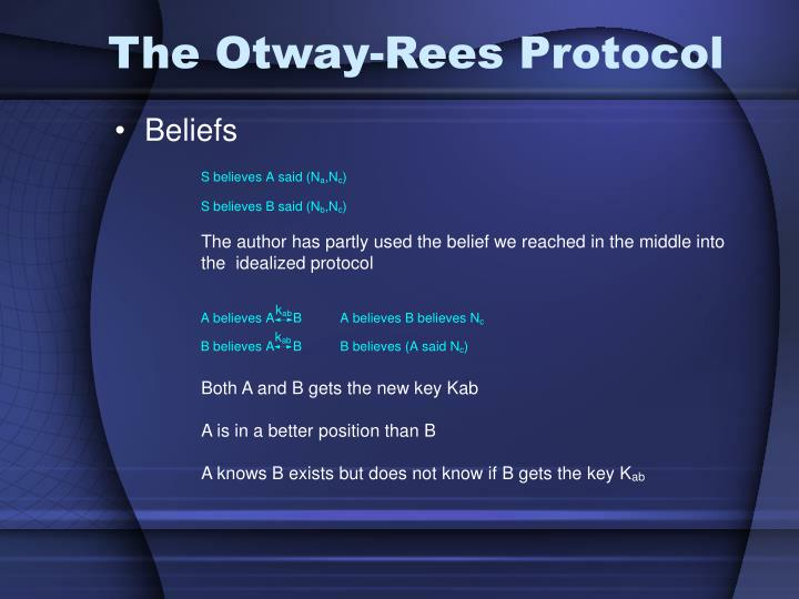 The Otway-Rees Protocol