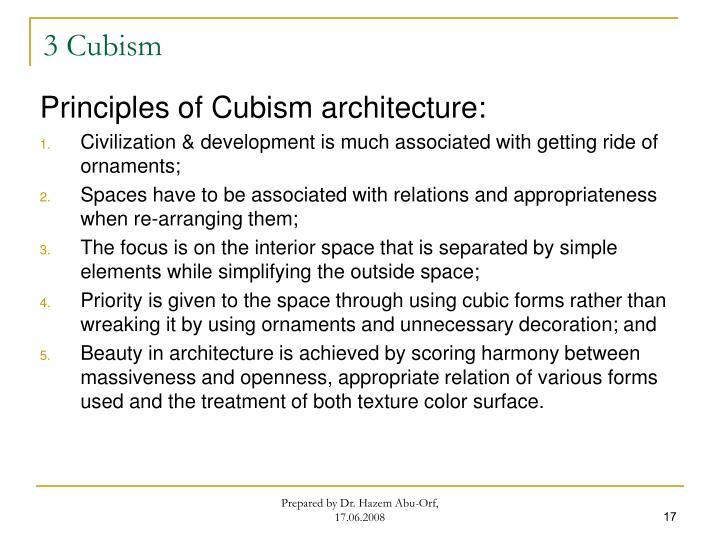 3 Cubism