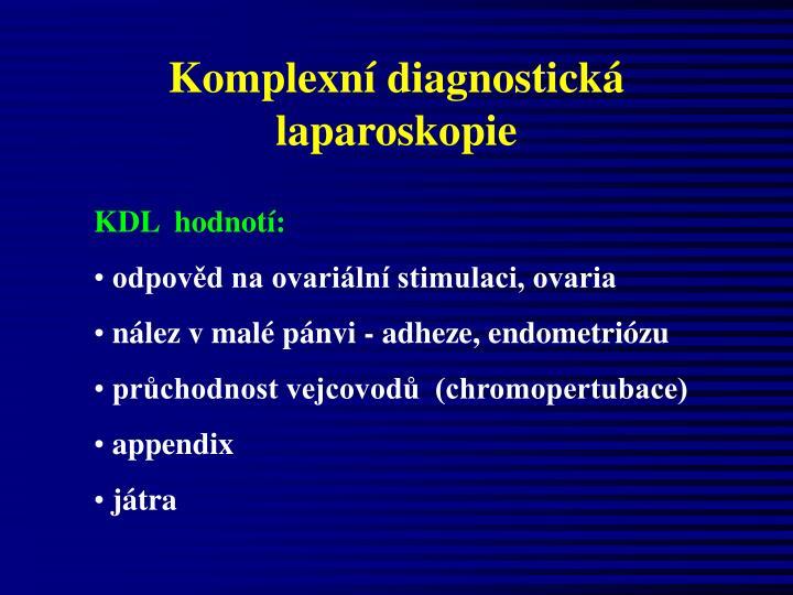 Komplexní diagnostická laparoskopie