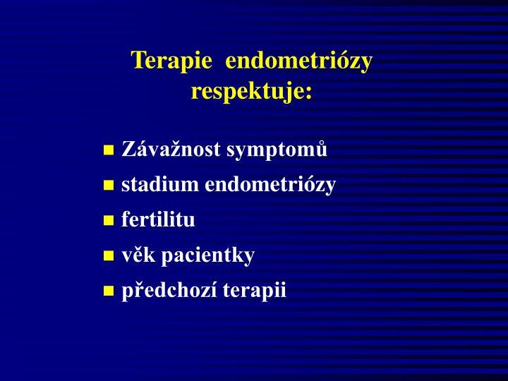 Terapie  endometriózy