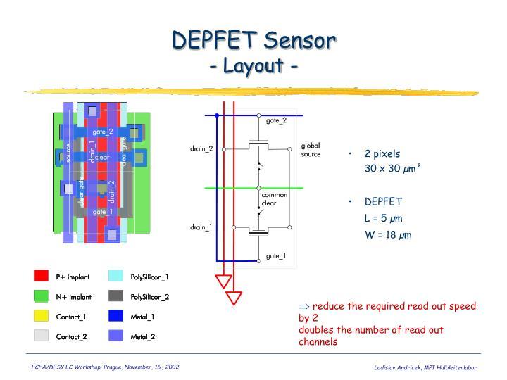 DEPFET Sensor