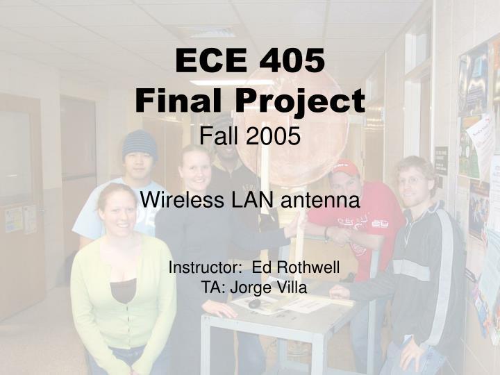 ECE 405