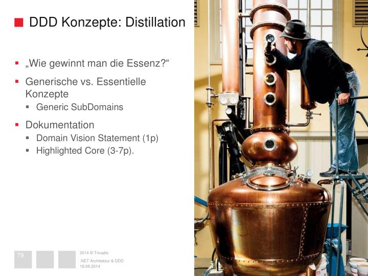 DDD Konzepte: Distillation