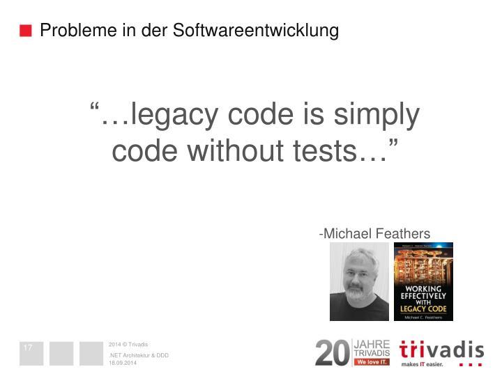 Probleme in der Softwareentwicklung