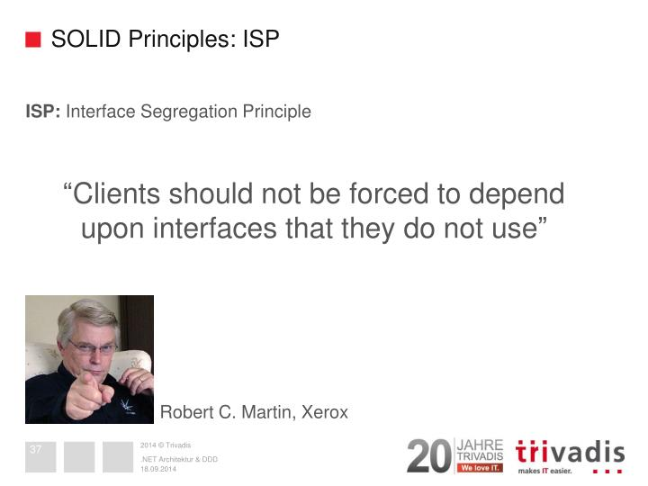 SOLID Principles: ISP