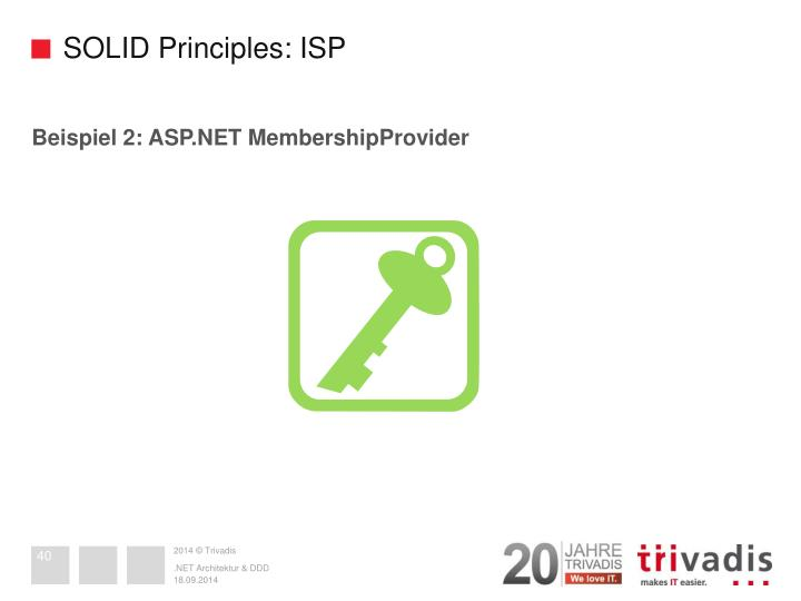 SOLID Principles: ISP