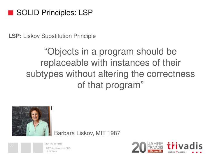 SOLID Principles: LSP