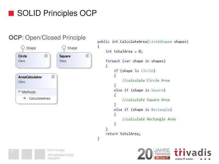 SOLID Principles OCP