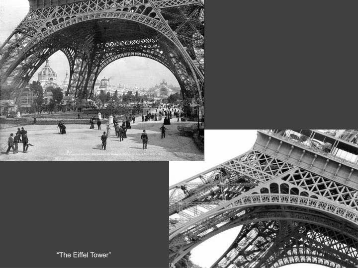 """The Eiffel Tower"""