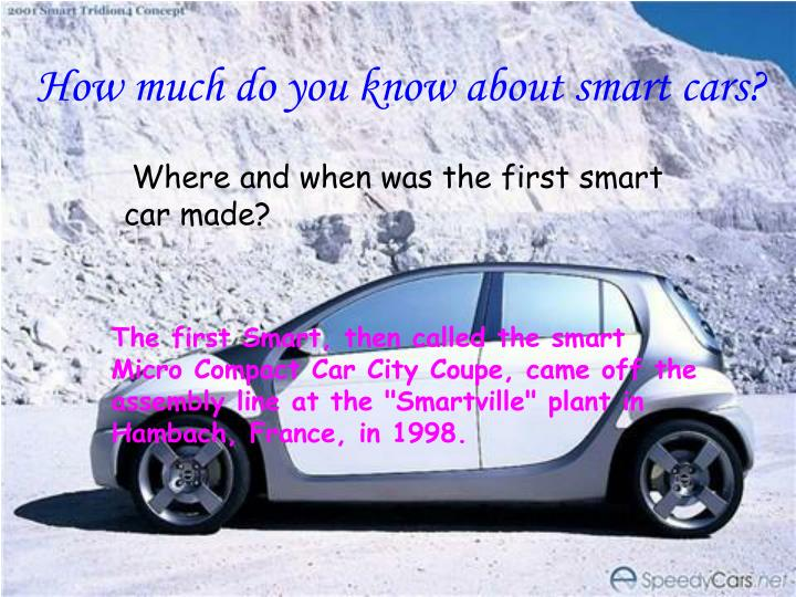 ppt smart cars powerpoint presentation id 6079522. Black Bedroom Furniture Sets. Home Design Ideas