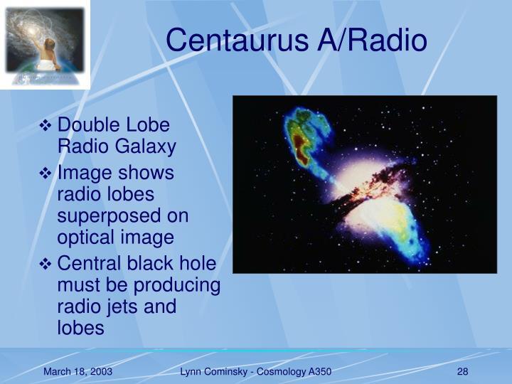 Centaurus A/Radio