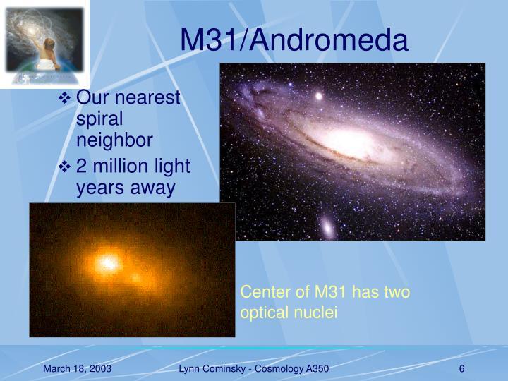 M31/Andromeda