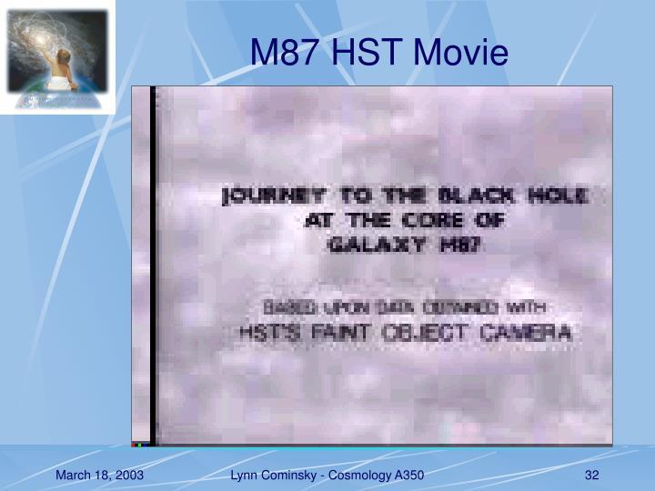 M87 HST Movie