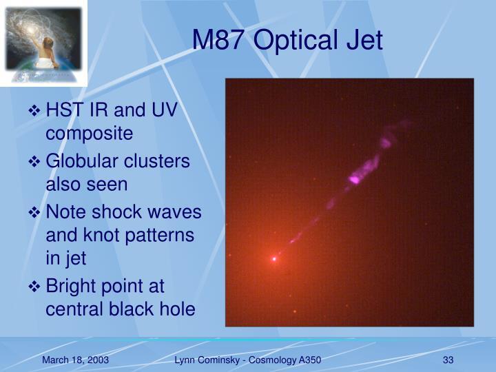 M87 Optical Jet