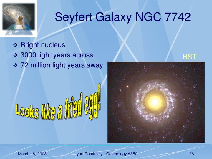 Seyfert Galaxy NGC 7742