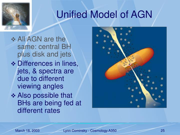 Unified Model of AGN