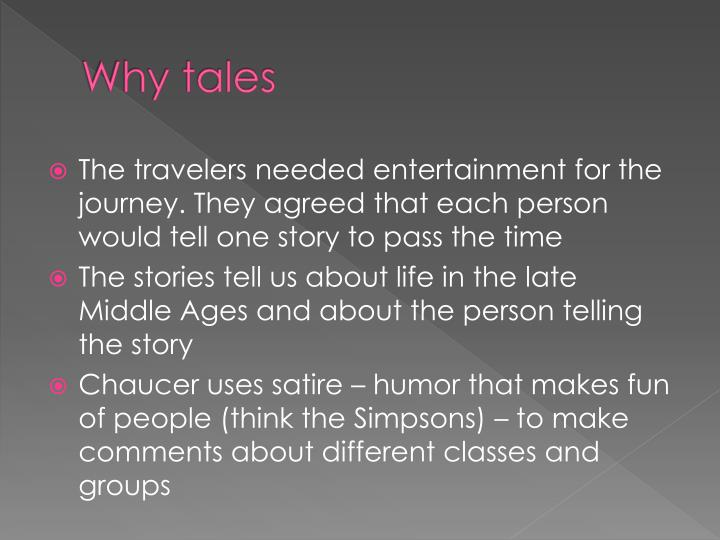 Why tales