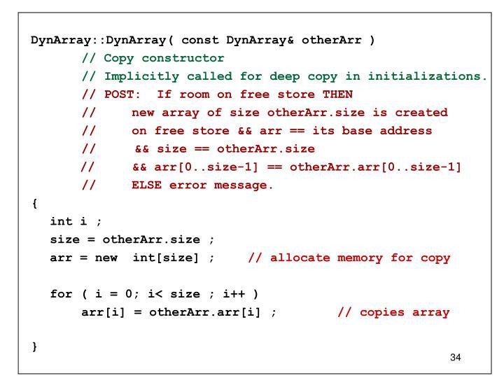 DynArray::DynArray( const DynArray& otherArr )