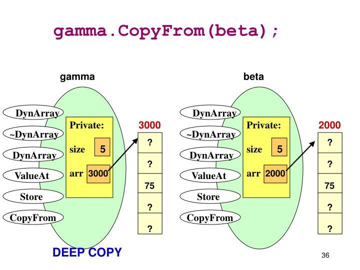 gamma.CopyFrom(beta);