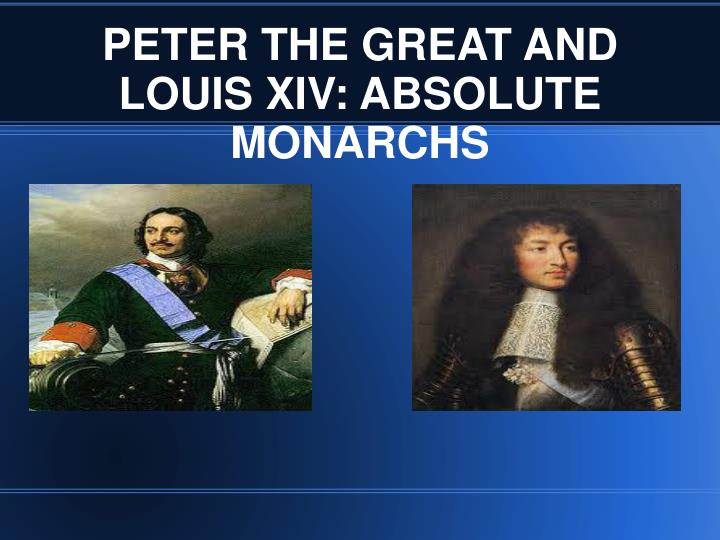 an analysis of absolutism and louis xiv of france Louis also gained support from people by reforming france's foreign policy by adopting an aggressive foreign strategy (to expand france's borders to the it can be argued that louis xiv's absolutist government was counter-productive for the development of france the very nature of an absolutist.