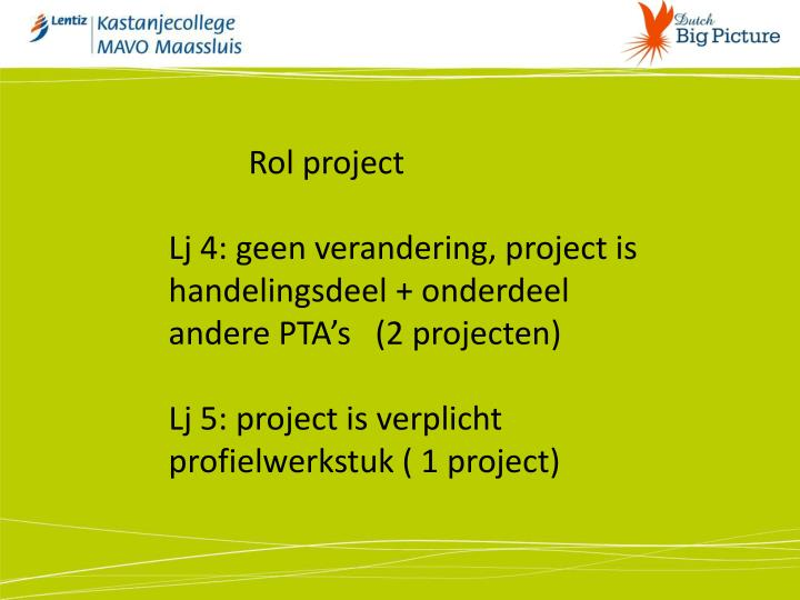 Rol project