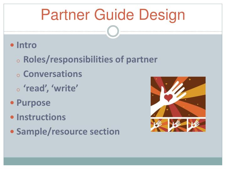 Partner Guide Design